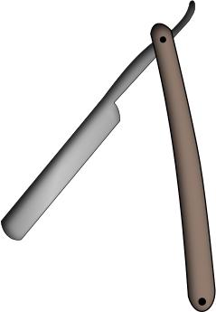 Blade clipart straight razor Clip Art Straight Download Razor