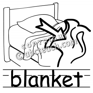 Blanket clipart black and white Free Clip Panda Blankets Free