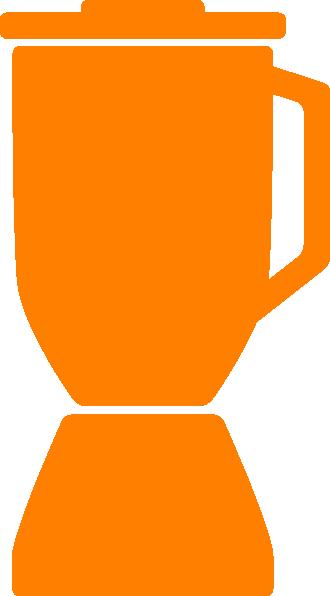 Blender clipart mixer grinder This  Orange Blender Clker