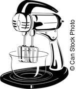 Blender clipart vintage kitchen Retro or Kitchen Blender Art