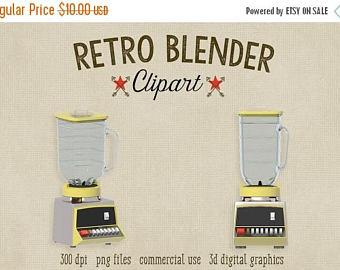 Blender clipart vintage kitchen Graphics Etsy file OFF Clipart