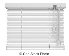 Blinds clipart  Art Closed and 3d