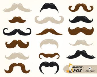 Blonde clipart mustache Png Graphics mustaches Blonde Mustache