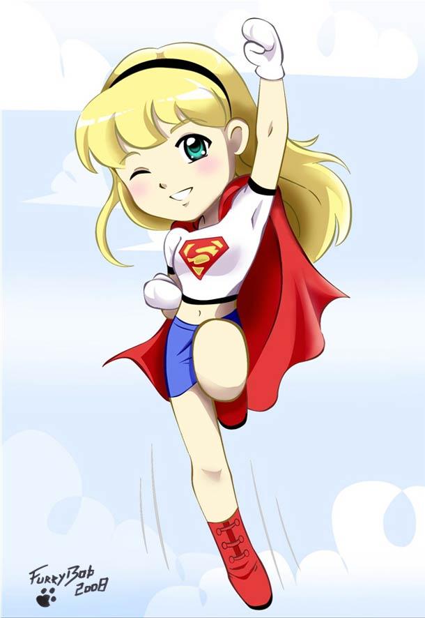 Blonde clipart supergirl The blonde  Super –