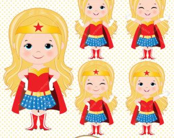 Blonde clipart supergirl Clipart power Supergirls Superhero Girl