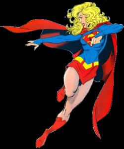 Blonde clipart supergirl Wikipedia Supergirl  (Matrix)