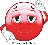 Blood clipart anemia Red Blood Mascot Vector Mascot
