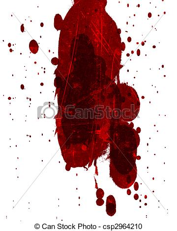 Blood clipart large water drop Stock blood red blood splatter