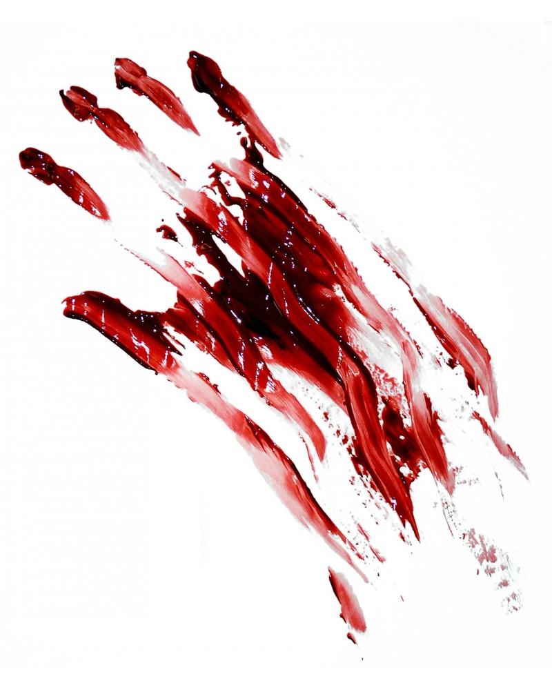 Blood clipart handprint Smear pic source Handprint Handprint