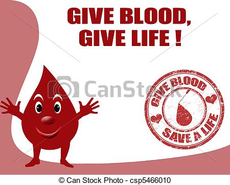 Blood clipart is life  give of blood smiling