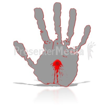 Blood clipart large water drop Middle Art with Blood in