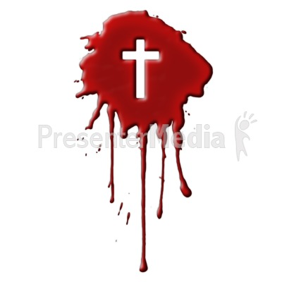 Blood clipart jesus With PowerPoint Cross  Blood