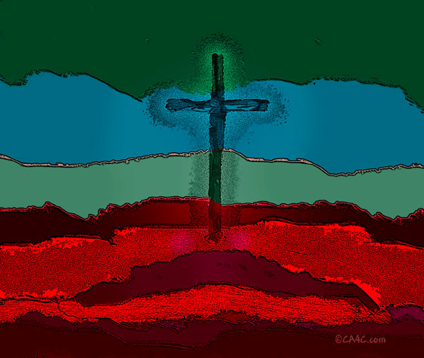 Blood clipart jesus Spirituality: Blood the Standing the