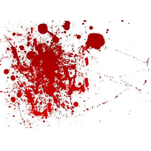 Blood clipart realistic Blood art Polyvore Effects clip