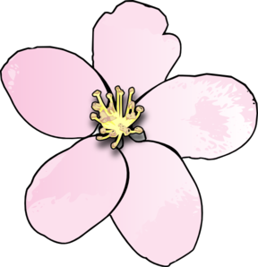 Blossom clipart #10