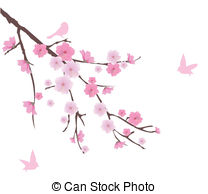 Blossom clipart japan Illustrations and blossom cherry blossom