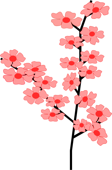 Blossom clipart black cherry #13 Blossom Download drawings clipart