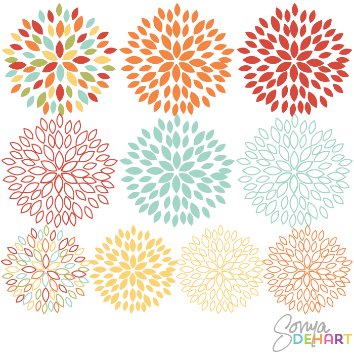 Blossom clipart bloom Art Flowers  Blooming Clip