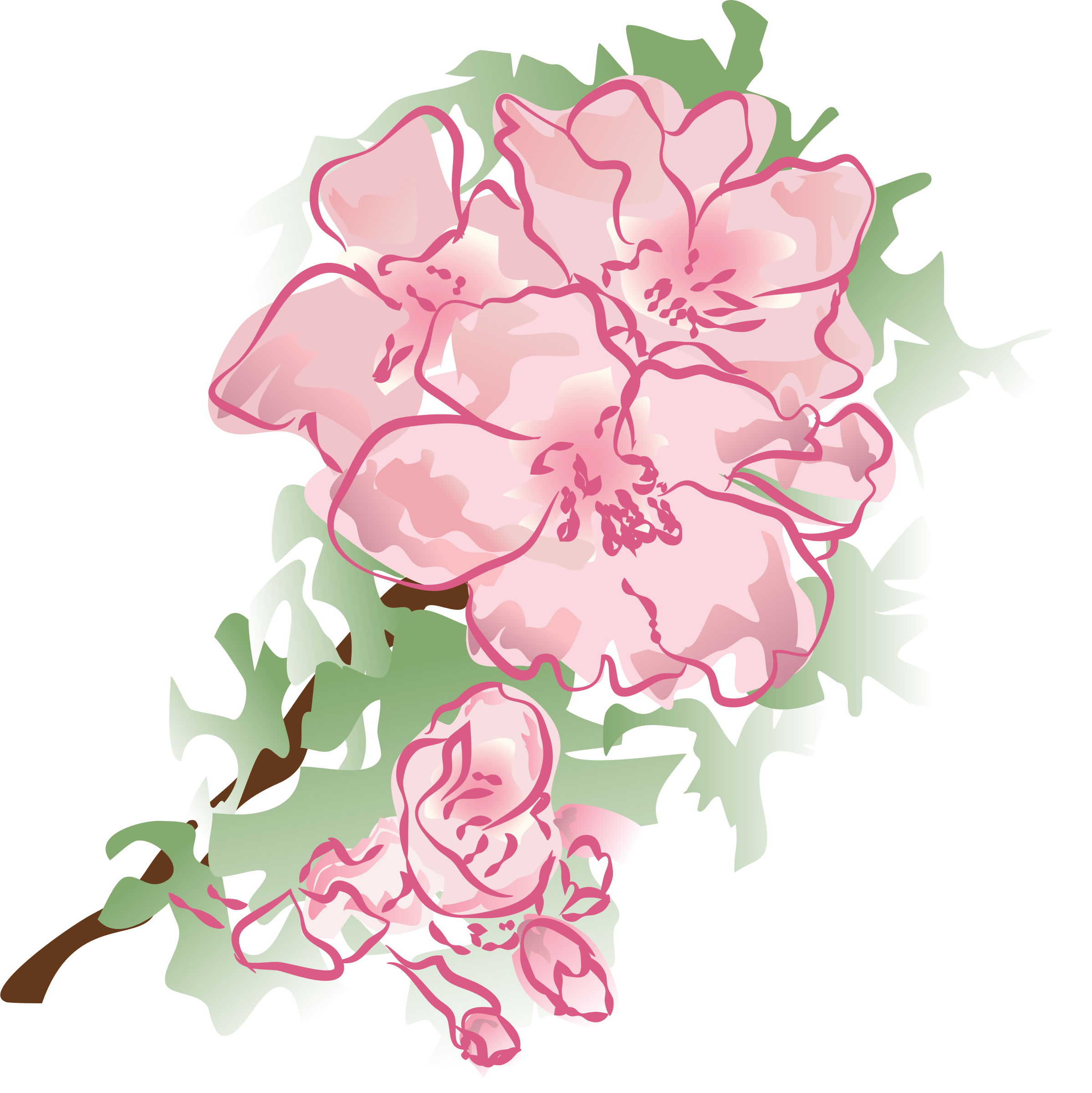 Blossom clipart mother's day Flower decoration flower 2 2