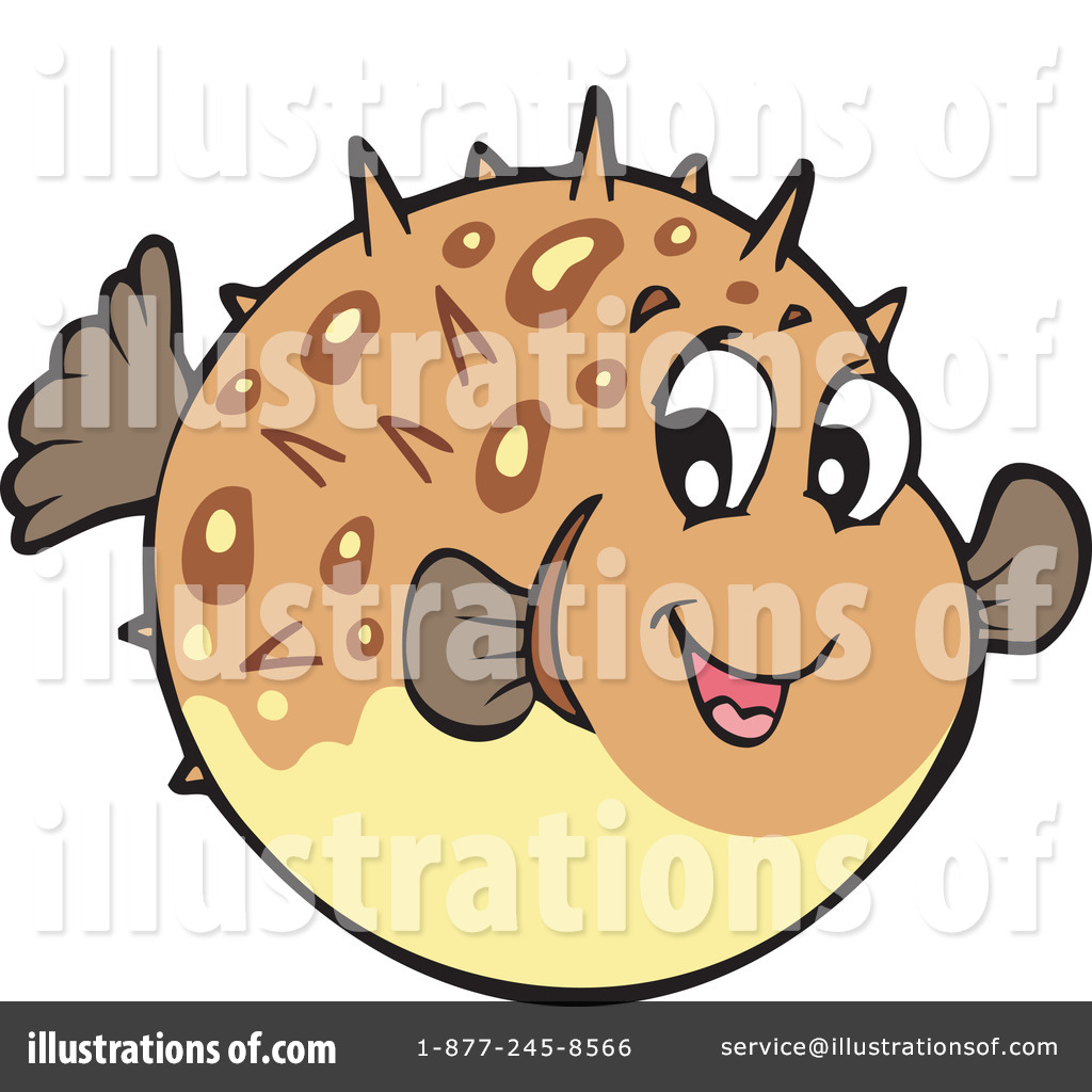Blowfish clipart Illustration Fish by by Clipart