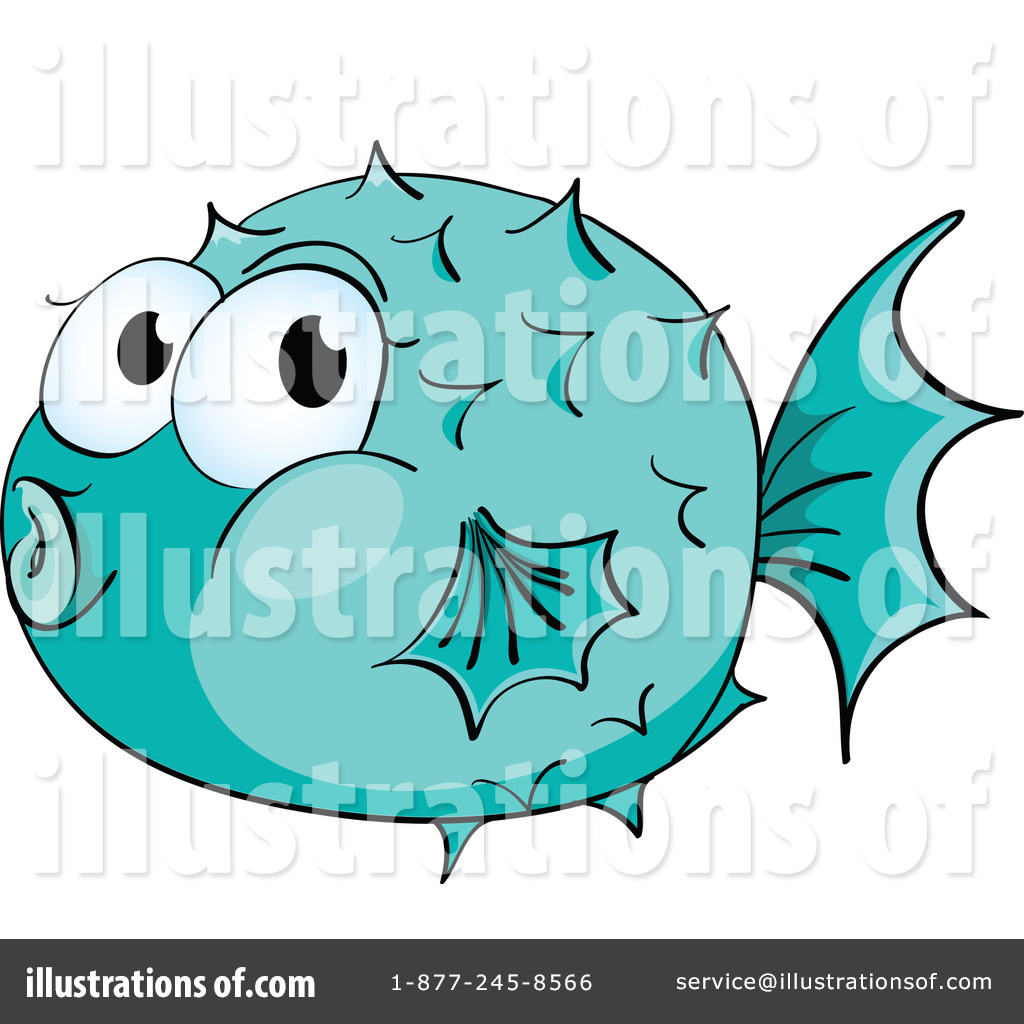 Blowfish clipart green Blowfish #1120720 Illustration Illustration (RF)