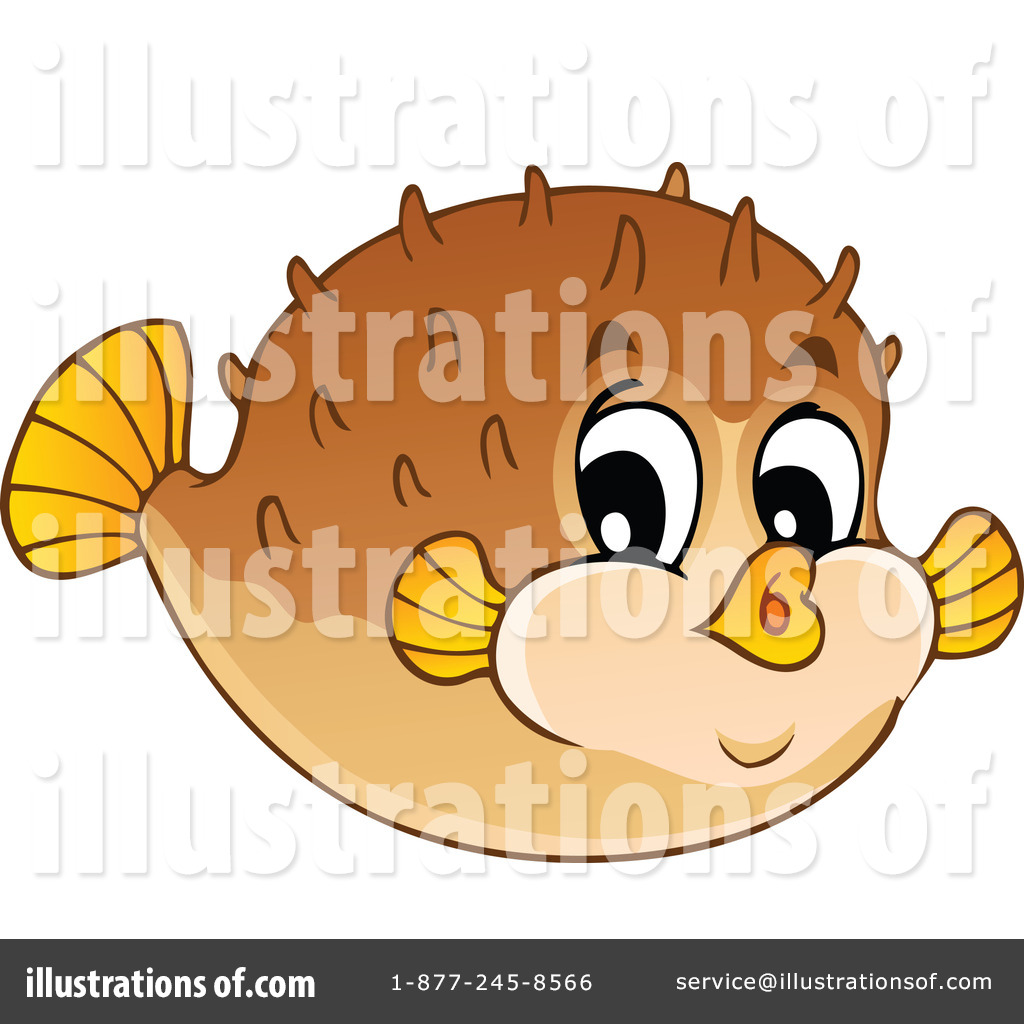 Blowfish clipart fish face Clipart Illustration (RF) visekart visekart