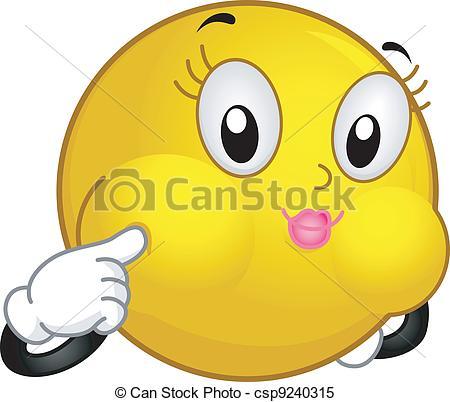 Blowfish clipart cartoon Csp9240315 Smiley a  Blowfish