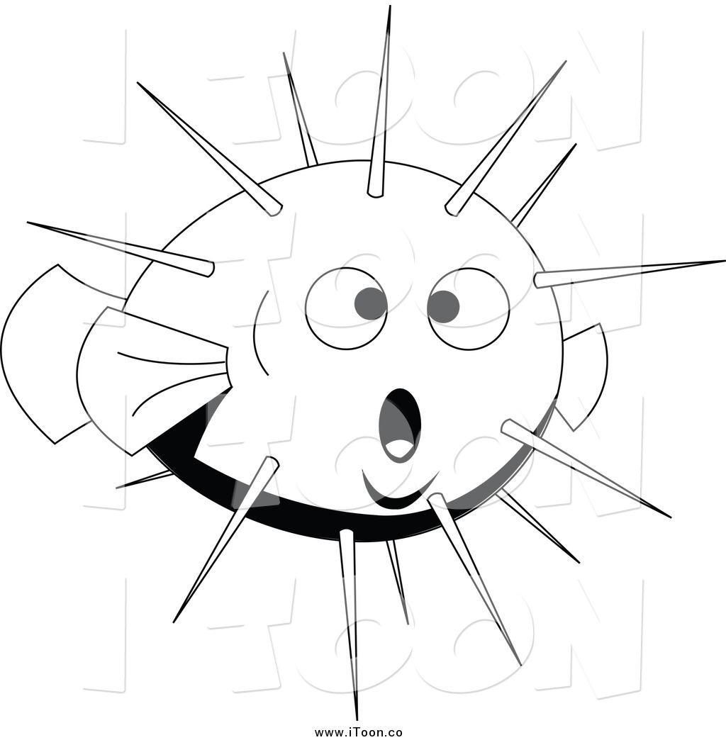 Blowfish clipart cartoon Lineart by Free Blow Royalty