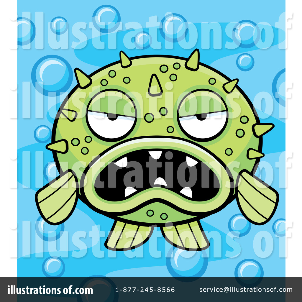 Blowfish clipart green Blow Cory Thoman Illustration by