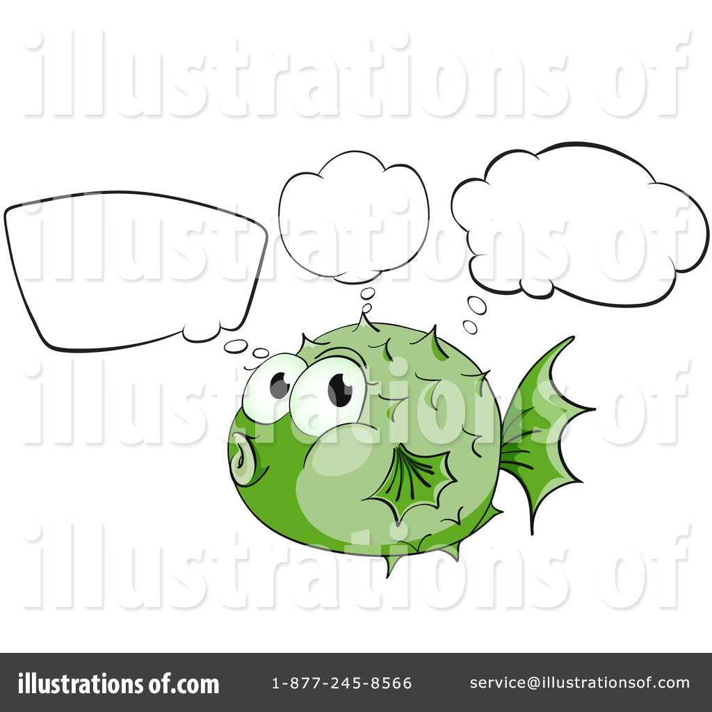 Blowfish clipart green Blowfish #1344569 Illustration Illustration (RF)