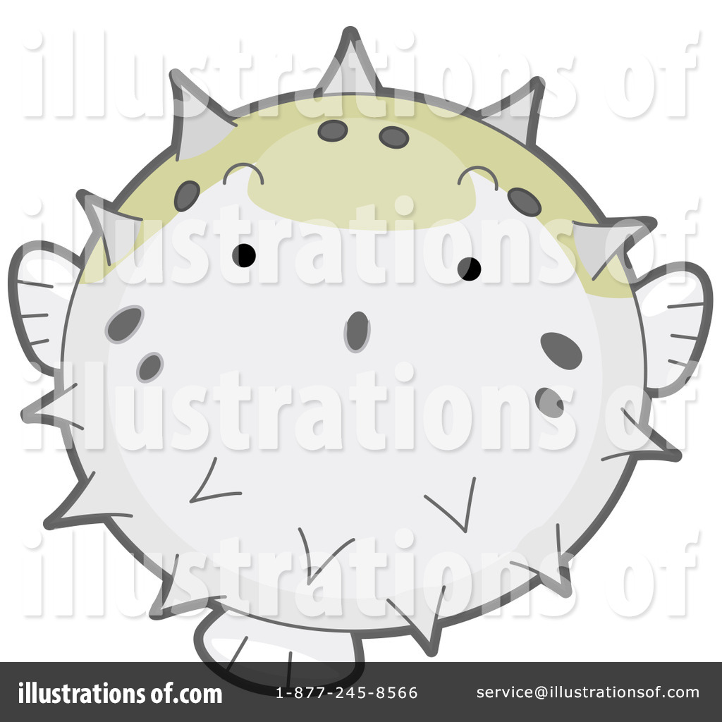 Blowfish clipart sea creature Design by Design Illustration by