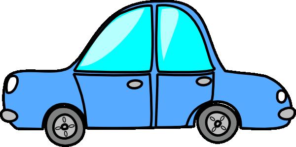Blue Car clipart #6