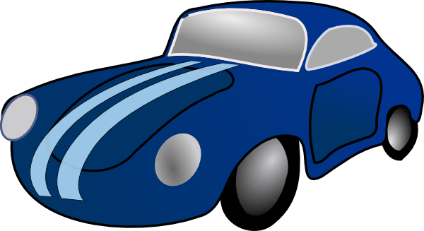Blue Car clipart Clip drawing vector free svg