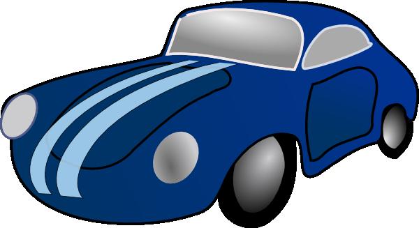 Blue Car clipart #13