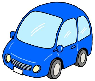 Blue Car clipart #1