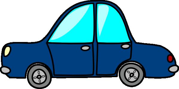 Blue Car clipart #11