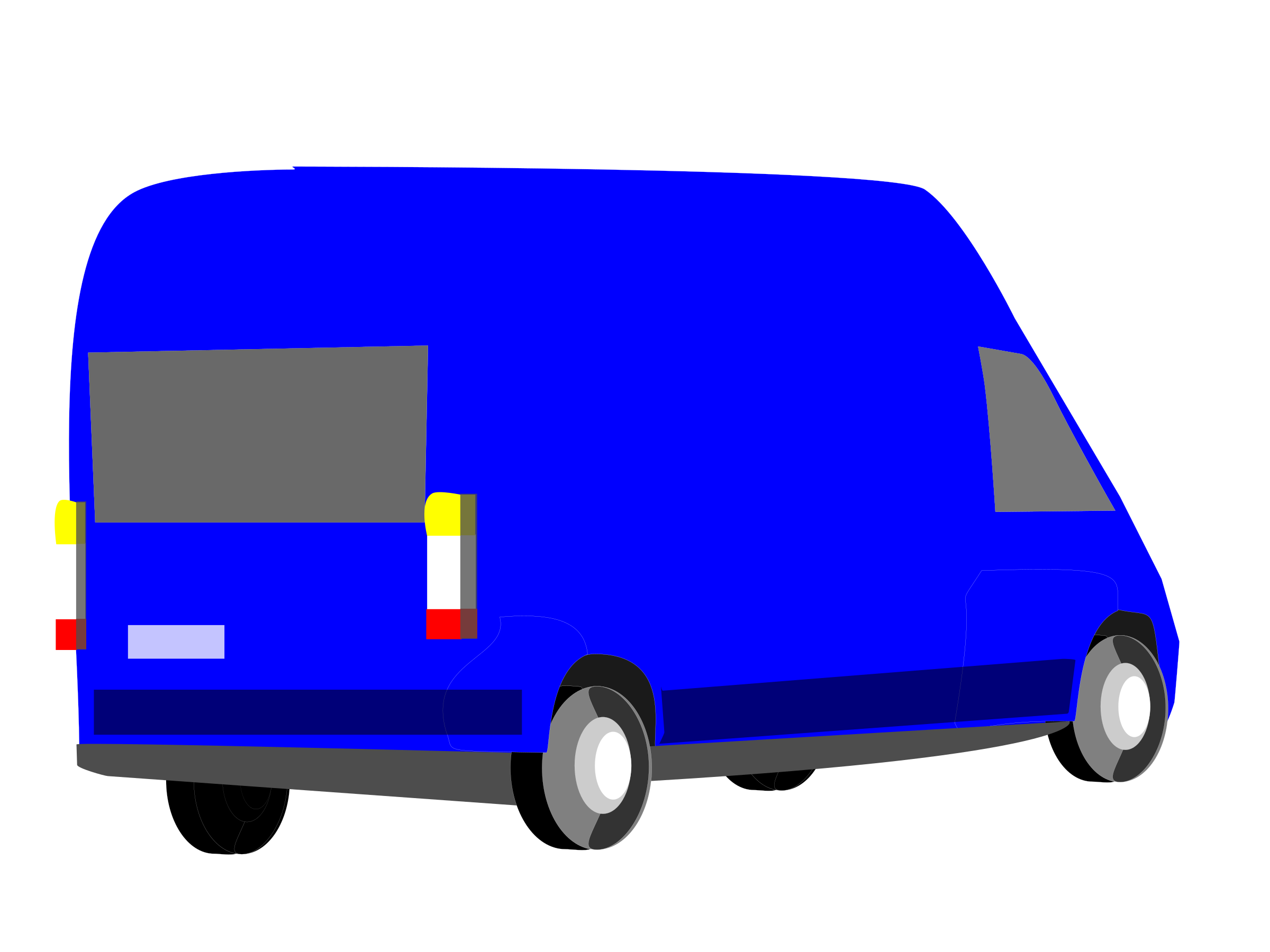 Blue Car clipart blue van Transporter blue Clipart transporter blue