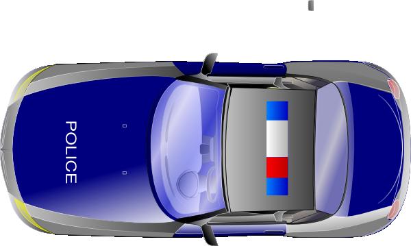 Blue Car clipart car aerial view Vector Art Clker Clip View