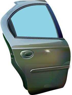 Blue Car clipart car door SEE com Car DOORS 12
