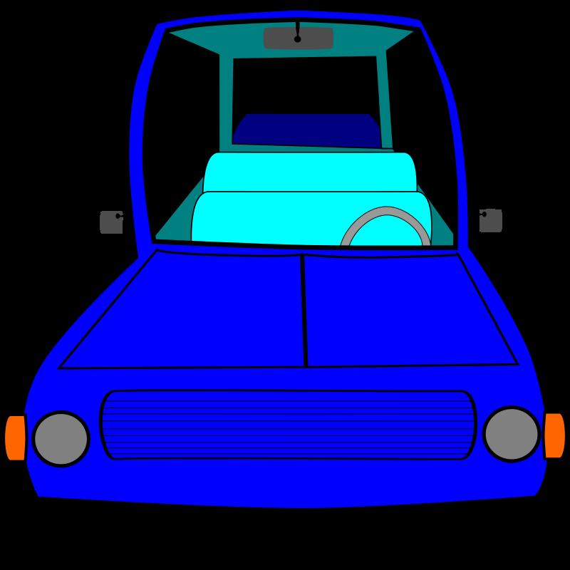 Blue Car clipart car front Art Clip Car Free Images