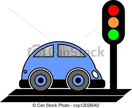 Blue Car clipart car light Stop Light Clipart Clipart Car