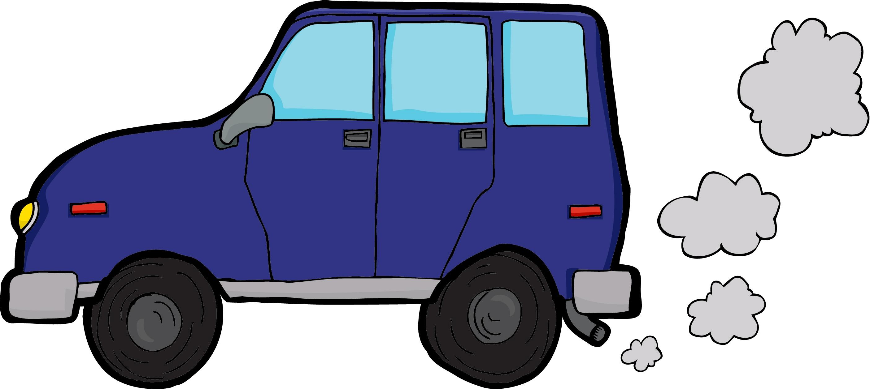 Blue Car clipart car smoke Car 2 Smoke Official Clipart