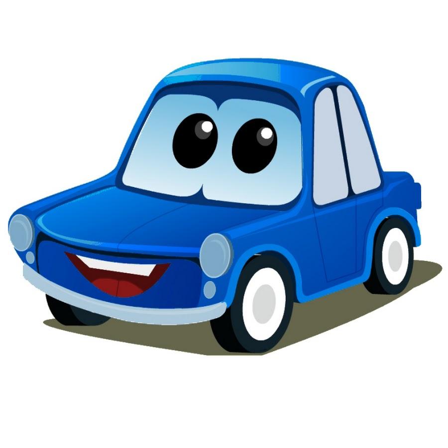 Blue Car clipart cartoon Navigation YouTube Friends Cartoons Zeek