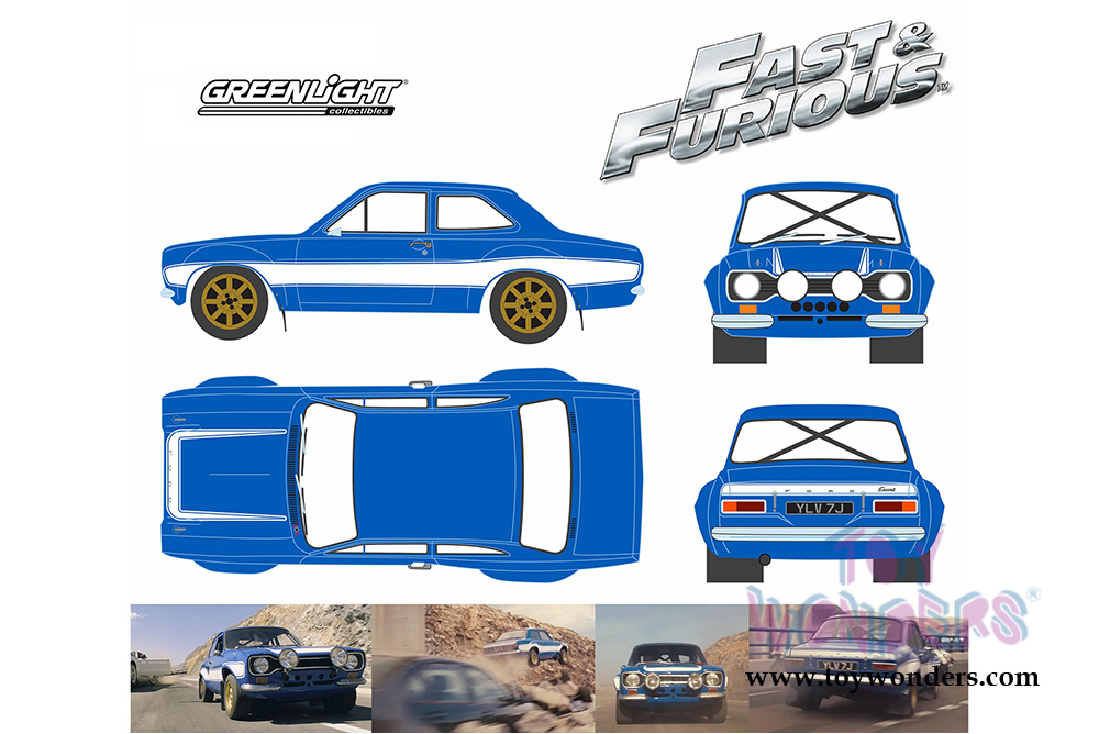 Blue Car clipart fast and furious Brian's Top Greenlight MKI 19022