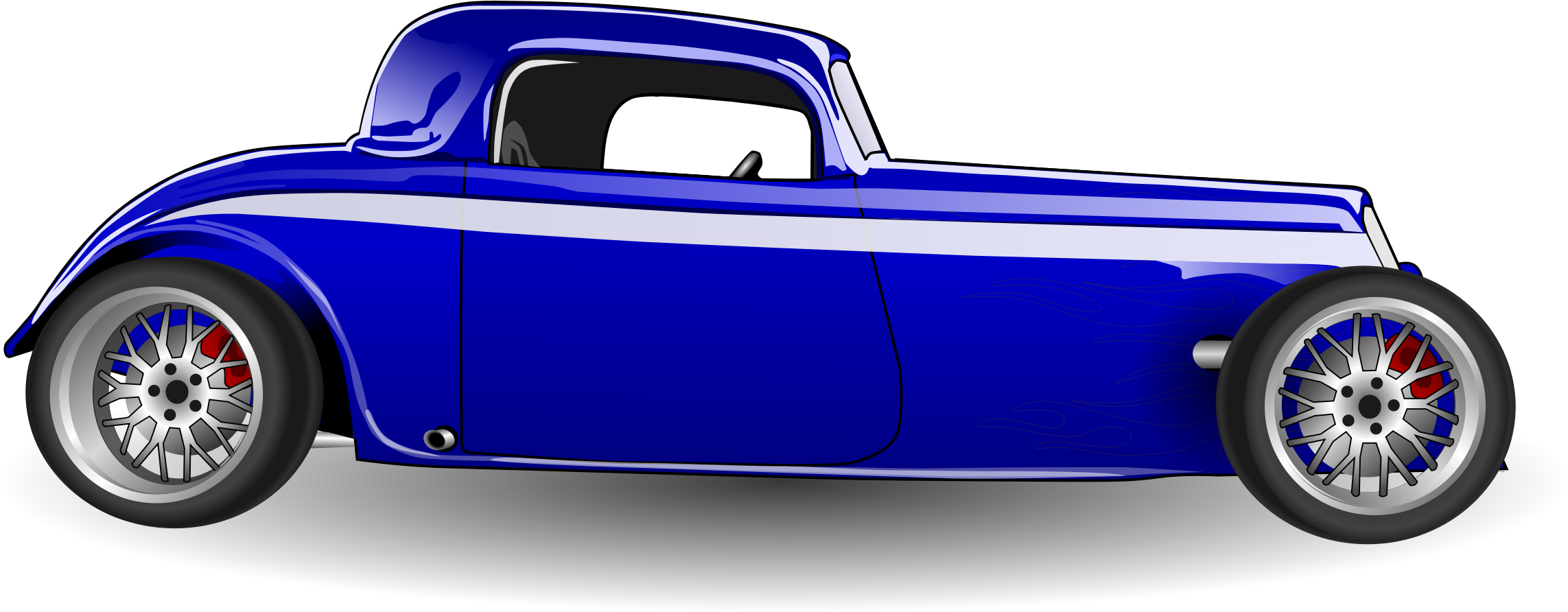 Blue Car clipart side view png PNG view Download side image