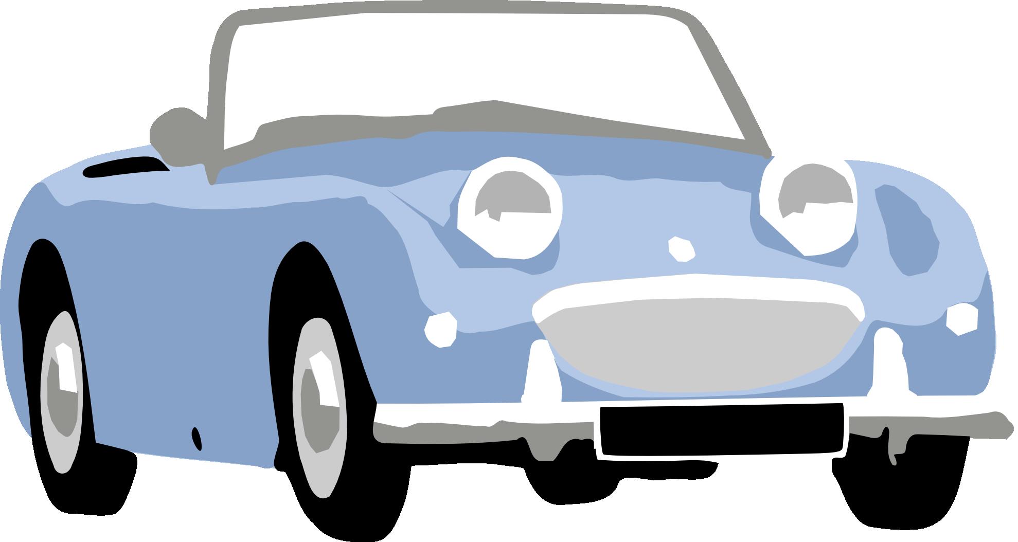 Blue Car clipart side view png Clip Car Download Front Blue