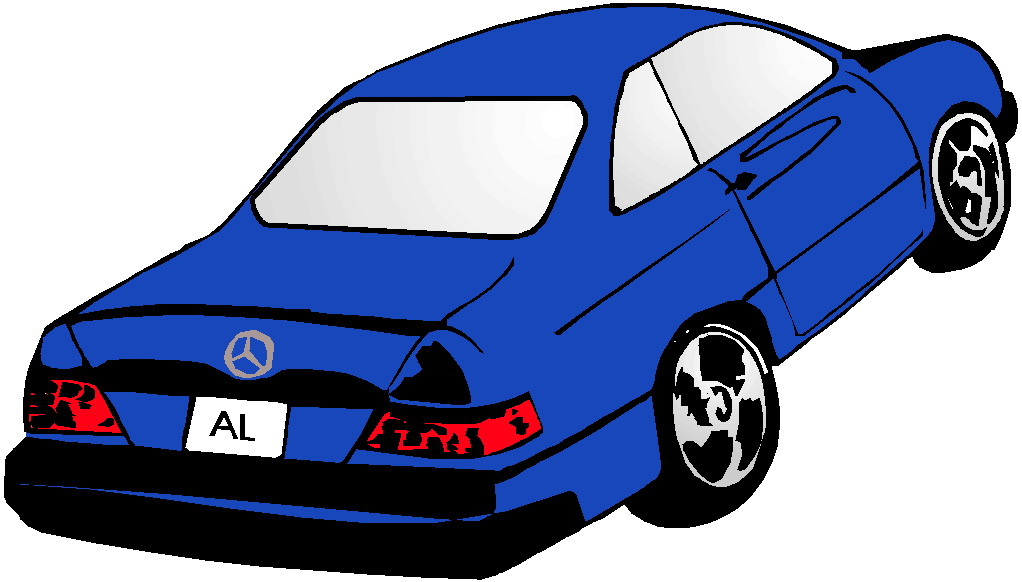 Blue Car clipart transparent car  Free Car Art Images