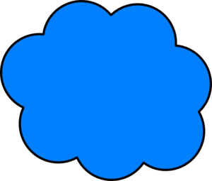 Clouds clipart retro Online Art royalty Blue Cloud