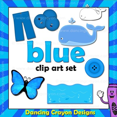 Crayon clipart early year Things things are blue that
