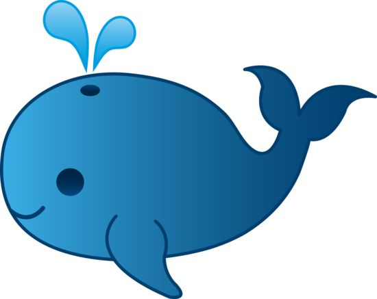 Whale clipart Thinking ClipartBarn and Blue on